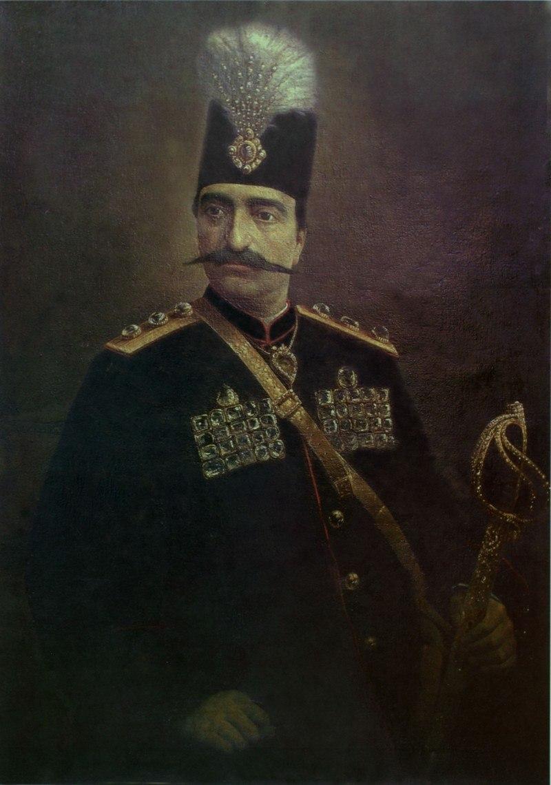 Naser edin shah by Kamalolmolk