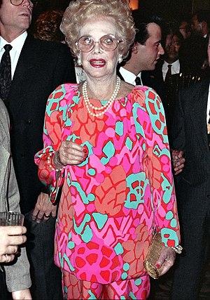 Natalie Schafer - Schafer in September 1990, less than a year before her death