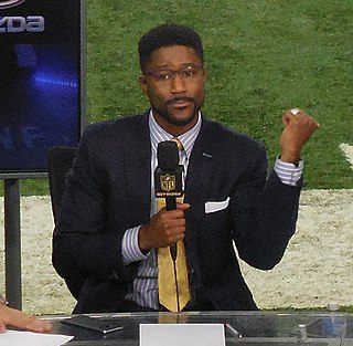 Nate Burleson Canadian-born American football analyst and former wide receiver