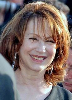Nathalie Baye French actress