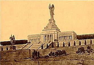 Rodman Wanamaker - National American Indian Memorial (1913, unbuilt).