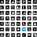 National Park Service sample pictographs.svg