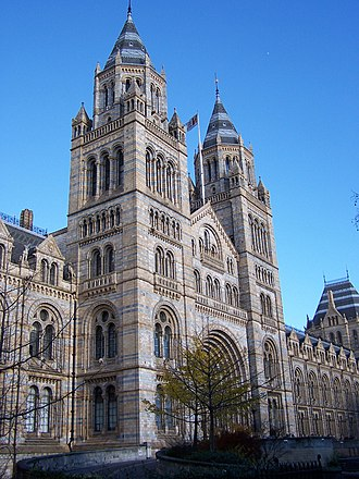 1881 in architecture - Natural History Museum, London