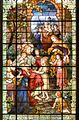 Nave window, St. Patrick's Cathedral, Harrisburg Historic District.jpg