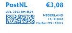 Netherlands stamp type SB5.jpg