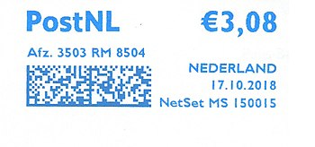 Netherlands stamp type SB5.jpg