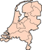 Map: Provinces o the Netherlands