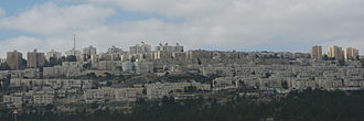 Neve Yaakov - View of Neve Yaakov from the east