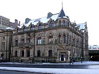 Neville Hall and Wood Memorial Hall, Westgate Road - geograph.org.uk - 1690255.jpg
