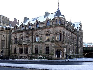North of England Institute of Mining and Mechanical Engineers - Neville Hall and Wood Memorial Hall, Westgate Road, Newcastle upon Tyne