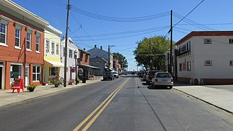 New Richmond, Ohio - Looking south on Front Street