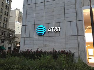 AT&T American multinational conglomerate holding company