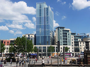 Bristol city centre - Radisson Blu Hotel and Broad Quay Serviced Apartments, The Centre