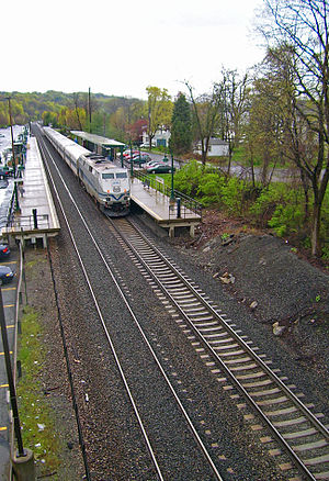 Poughkeepsie (town), New York - New Hamburg Metro-North station
