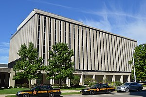 Montgomery County, Ohio - Image: New Montgomery County Courthouse, Dayton