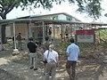 New Orleans School after Hurricane Katrina Federal Flood - June 2006 - Exterior.jpg