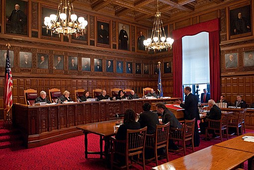 New York Court of Appeals hearing oral arguments