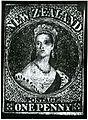 New Zealand's First Stamp (9308250167).jpg