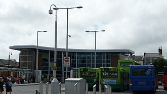 Transport on the Isle of Wight - Newport Bus Interchange