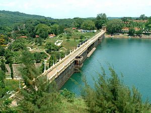 Neyyar Dam - Neyyar Dam from a distance