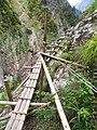 Nichiden Hodo in Hakuryukyo, Kurobe Gorge.jpg