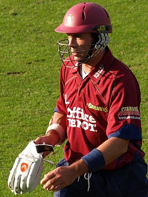 English: Nicky Boje, Captain of Northants [200...