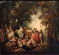 Nicolas lancret, festa galante, 1730 ca. 02.jpg