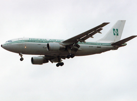 Nigeria Airways A310-200 5N-AUF LHR 1995-6-17.png
