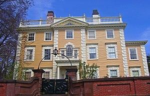 Nicholas Brown Jr. - Nightingale-Brown House, home of Nicholas  Brown Jr., is now a National Historic Landmark