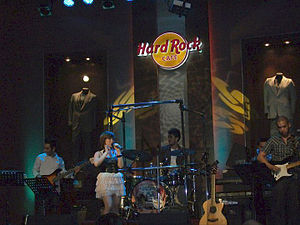 "Nina Live! - Nina performing ""Fall for You"" at Hard Rock Cafe in 2011."