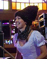 Nina Garenetska (DakhaBrakha) (Haldern Pop 2013) IMGP6621 smial wp.jpg