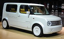 nissan cube wikip dia. Black Bedroom Furniture Sets. Home Design Ideas