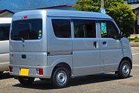 Nissan NV100 Clipper DX GL Package DR17V Rear 0313.JPG