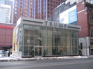 Future site of Trump International Hotel & Tow...