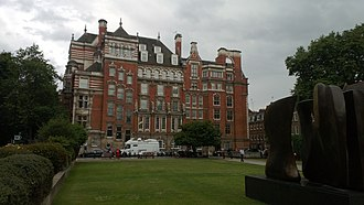 Church Commissioners - No. 1 Millbank, built for the Church Commissioners by W. D. Caroe (1903)