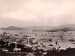 No 05 Hong Kong from Kennedy Road Looking West by Lai Afong.jpg