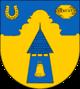 Glockenturm, belegt mit Glocke
