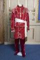 Nordstjärneordens kommendör i röd silkessammet, 1800-tal - Livrustkammaren - 108326.tif