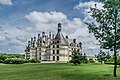 North-west facade of the Castle of Chambord 02.jpg