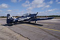 North American SNJ-4 Texan VMF-231 RSideRear TICO 13March2010 (14596208871).jpg