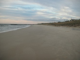 North Cape May, New Jersey - Image: North Cape May shoreline