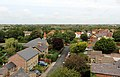 North of Bidston Village from the tower of St Oswald's church, Bidston.jpg