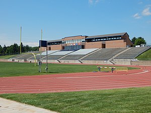 Nottingham Field - Image: Northern Colorado Bears Nottingham Field main stands picture number 1