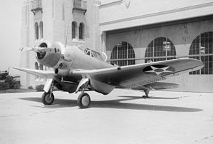 Northrop BT - BT-1 at El Segundo