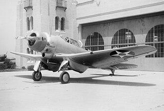 Northrop BT - BT-1 at El Segundo