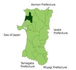 Noshiro in Akita Prefecture.png