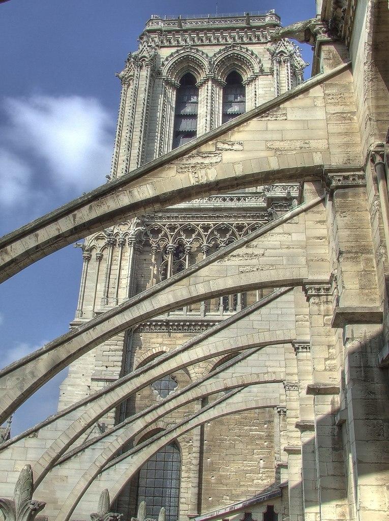 Notre Dame buttress