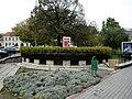 Nyíregyháza, Hősök tere a Bercsényi utca sarok felé nézve, W.C. A város útjain közlekedve... - panoramio - Szemes Elek (92).jpg