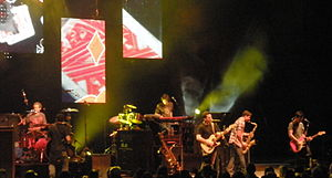 O.A.R. - O.A.R. during 2009 summer concert tour at the Saratoga Performing Arts Center in Saratoga Springs, New York