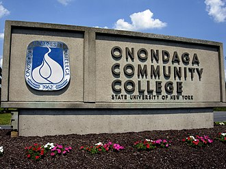 Onondaga Community College - Entrance to the Main Campus